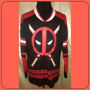 DeadPool Jersey Size MEDIUM NEW!